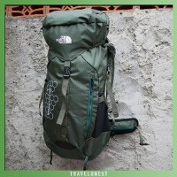Murah Tas Carrier - Tas Gunung - TNF Modulator 50L - Free Cover Bag