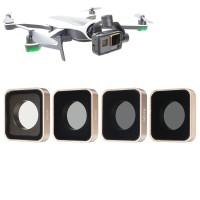 [ORI] ND4 ND8 ND16 ND32 Lens Filter Kit Penggantian Untuk Gopro