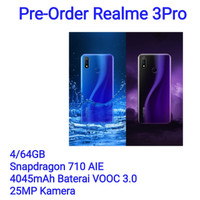 REALME 3PRO RAM 4/64GB (OPPO) GARANSI RESMI 1 TAHUN