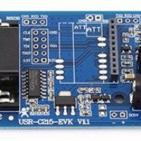 USR-C215-EVK ultra low power consumption serial WIFI module test