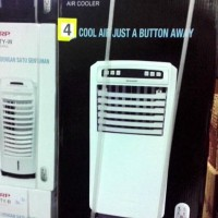 Ready Air Cooler Sharp Pj-A55Ty Semi Ac Penyejuk Udara Asli, Baru,