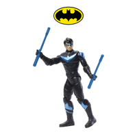 DC Comics Batman Missions Nightwing Action Figure Mainan