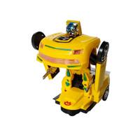 Premium Toys Transform Robot Bumblebee Mainan Mobil Berubah Bentuk