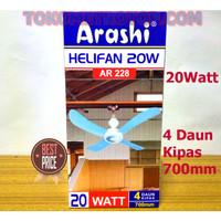 kipas angin gantung / HELIFAN 20 Watt ARASHI