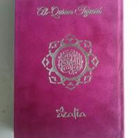 Al-Quran Tajwid Azalia Ukuran A5 Sampul Bludru