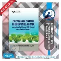 Formulasi Nutrisi Hidroponik AB Mix buku formulasi nutrisi tumbuhan