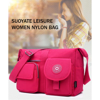 TS83 Suoyate Leisure Nylon Women Sling bag / Tas Selempang Wanita