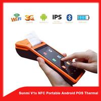 Sunmi V1s NFC Portable Android POS Thermal Bluetooth Printer- TERLARIS