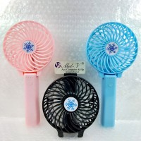 Mini Fan Portable Kipas Lipat Genggam / Hand Fan Kipas LED
