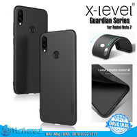 X-LEVEL Redmi Note 7 TPU Soft Case Guardian Ultra thin Frosted