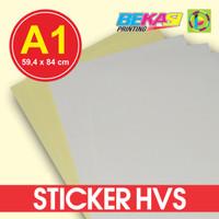 Kertas Stiker / Sticker HVS A1 (84 x 59,4 cm)