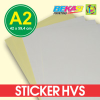 Kertas Stiker / Sticker HVS A2 (42 x 59,4 cm)
