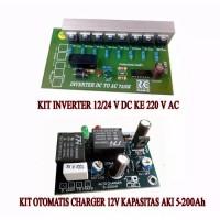 Paket Kit Inverter dan Kit Charger Otomatis Pemutus Relay