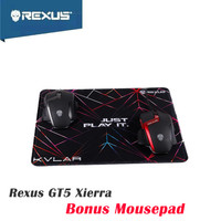 Rexus GT5 Xierra Free Mousepad - Mouse Gaming - RX-GT5