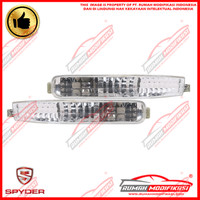 FRONT BUMPER LAMP - HONDA ACCORD MAESTRO 1992-1993 - CRYSTAL - CLEAR