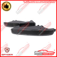 FRONT BUMPER LAMP - HONDA ACCORD CIELO 1996-1997 - CRYSTAL - BLACK JDM