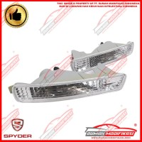 FRONT BUMPER LAMP - HONDA ACCORD CIELO 1994-1995 - CRYSTAL - CLEAR