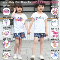 Kaos Anak / Baju Anak My Little Pony - 13 Motif/Design