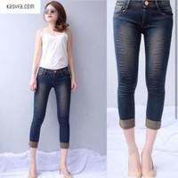 Jual Celana Jeans Murah Pendek Wanita Hitam Laser