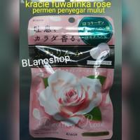 Permen Kracie Fuwarinka Rose Breath Candy 32gr Permen Penyegar Mulut
