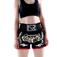 Celana Muaythai shorts Boxing Kickboxing Fight Shorts [S-XXL] -