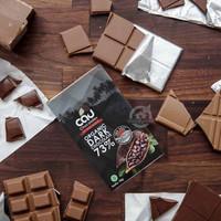 Cau Organic Dark Chocolate 73 % with Sea Salt