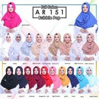 Hijab instan Jilbab instan pashmina instan Arrafi 151 stndr