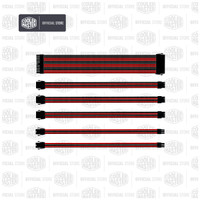 Cooler Master Extension Cable Red Black [CMA-SEST16RDBK1-GL]