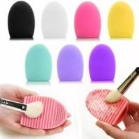 Buy 1 Get 1 Free Egg Brush Pembersih Kuas Makeup Murah