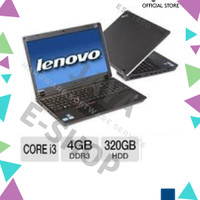 laptop NOTEBOOK LENOVO thinkpad core i3-4GB RAM-HDD 320GB [stok lama]