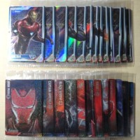 MARVEL Avengers/End Game Plastic Card [ALL 26/SET] Carddass Bandai