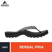 Eiger Ugimba Pinch Strap Pattern 3 Sandals - Grey