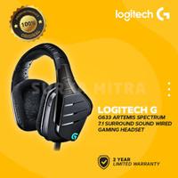 Logitech G633 / G 633 Artemis Spectrum Gaming Headset