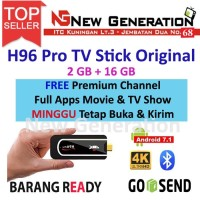 Smart TV Stick H96 PRO Android 7 RAM 2GB /16GB 4K TV Box Dongle S912