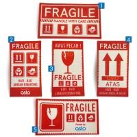Stiker Fragile Awas Pecah min 50pcs