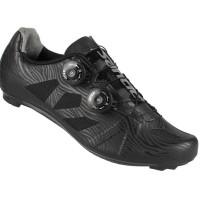 Jual Santic Men Cycling Road Bike Shoes - S6302 - Black Murah