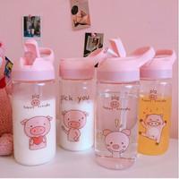 Botol minum anak cangkir air portabel botol minum motif lucu - TBR009