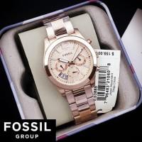 Jam Tangan Wanita Merk Fossil Original / Arloji Wanita Fossil ES3885