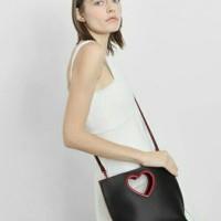 Harga tas selempang tote bag slempang wanita charles and keith heart | antitipu.com