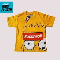 kaos kartun the simpson anak 1-13th - 2-3 tahun