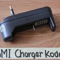 Charger baterai 18650/ ultrafire 3,7 v/ untuk senter swat/ police