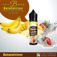 Liquid Bananalicious (Banana Cream Strawberry) 60ml