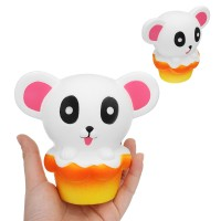 Areedy Cow Squishy Rainbow and Galaxy 12.5*10.5*8cm Slow Rising With Packaging C