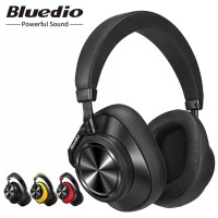 b00822a69bc Original Bluedio T6 Active Noise Cancelling Headphones Wireless