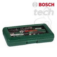 Mata Obeng Sok Socket Screwdriver Set Hand Tool Kit Bosch 46 pcs