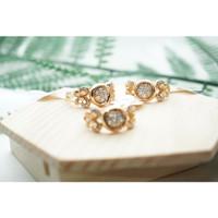 Cincin Xuping Lapis Emas Berlian Kupu CX-0003