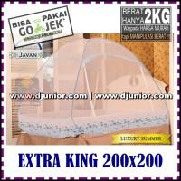 JAVAN - LUXURY SUMMER KELAMBU EXTRA KING 200x200cm / 200 x 200 cm