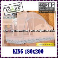 JAVAN - LUXURY SUMMER KELAMBU LIPAT KING 180x200cm / 180 x 200 cm