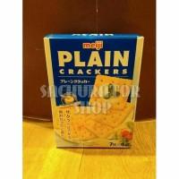 STOK TERBATAS Biskuit Meiji Plain Cracker Crackers Biscuit Biscuits