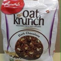 STOK TERBARU Oat krunch munchys dark chocolate